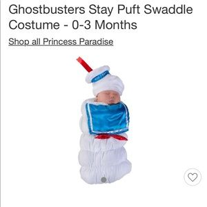 Other - Ghostbusters marshmallow man baby costume 0-3 mos